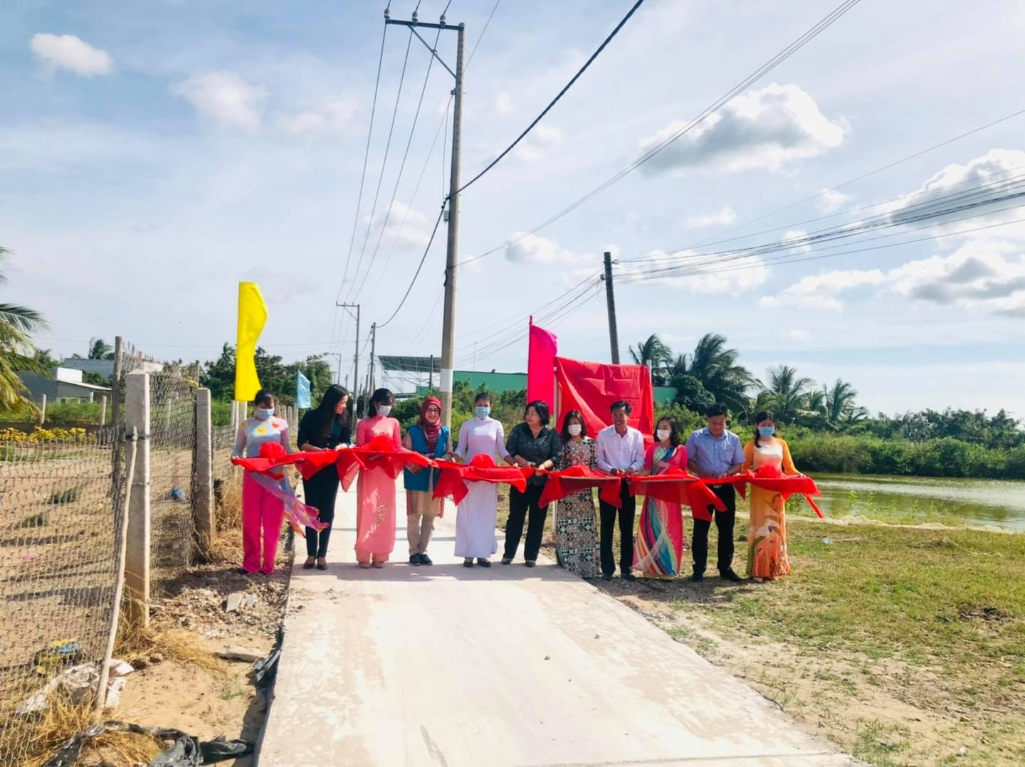 UNDP supports much needed infrastructure improvements in Bac Lieu, Ca Mau