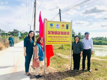 UNDP supports much-needed infrastructure improvements in Bac Lieu, Ca Mau