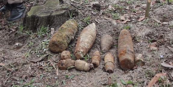 project renewnpas team destroys explosive ordnance cache in quang tri