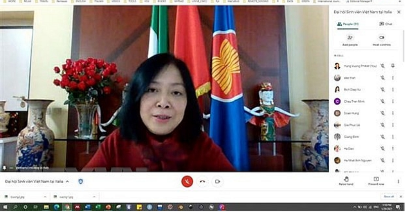 Vietnamese Students' Association in Italy holds first congress