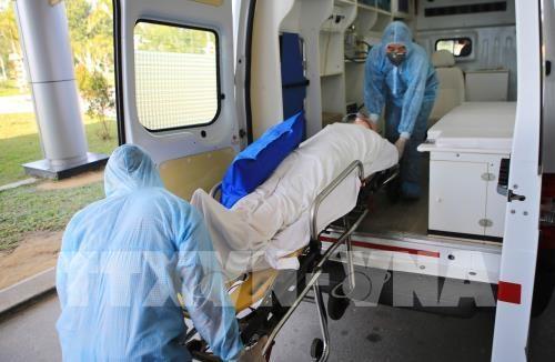 coronavirus prevention drill held in hue