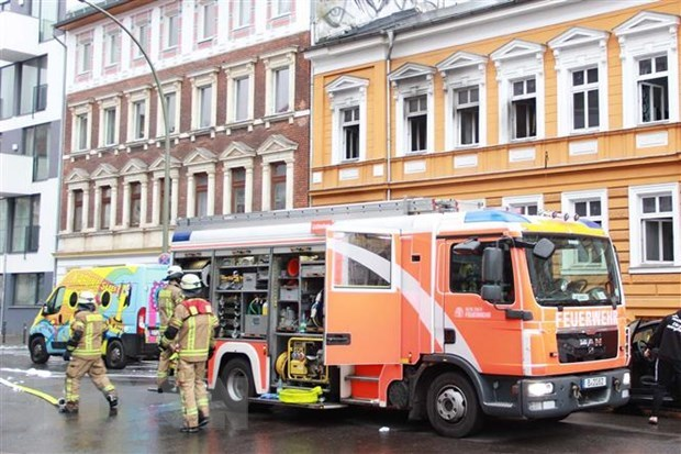 vietnamese owned house in germany catches fire