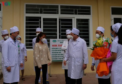 thanh hoa female ncov patient discharged from hospital