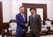 vietnam laos boost security cooperation