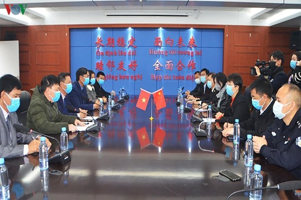 mong cai city supports chinas bordering city in covid 19 fight