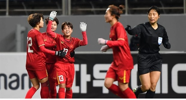 vietnams womens football team to battle australia for olympics berth
