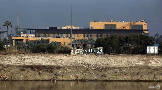 three rockets hit near us embassy in iraq capital no casualties