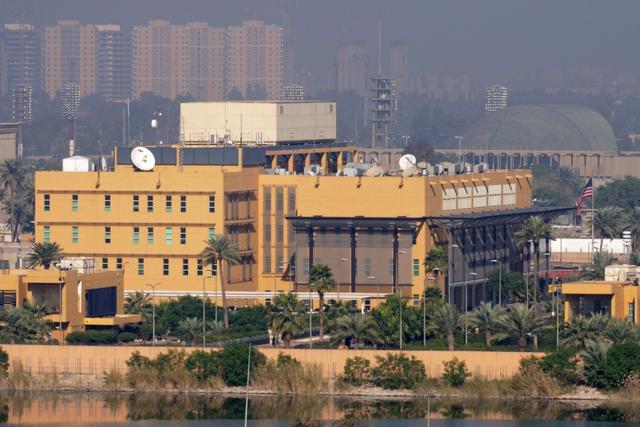 Three rockets hit near US embassy in Iraq capital, no casualties