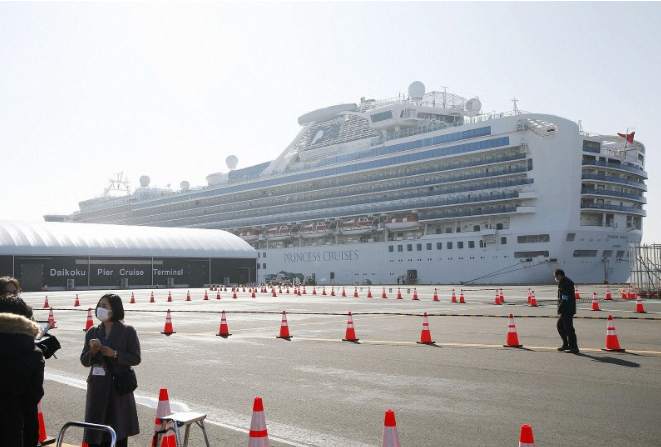 Another 99 on cruise ship off Japan test positive for coronavirus: Health Ministry