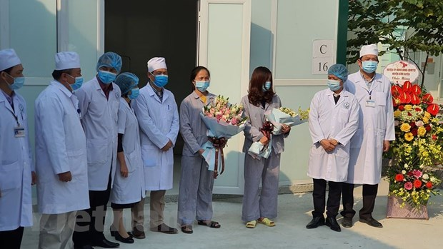 two covid 19 patients in vinh phuc discharged