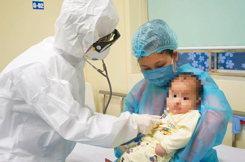 baby with covid 19 to be discharged from hospital
