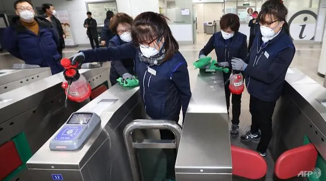 south korea reports second covid 19 death total 433 infection cases