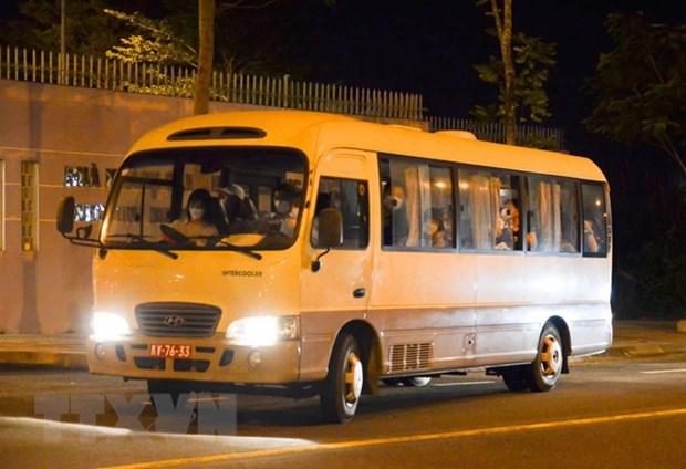twenty korean passengers flown back home from da nang city