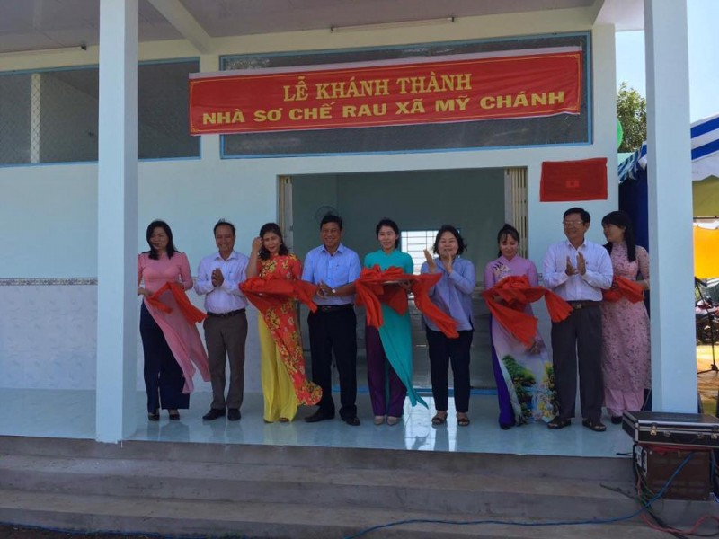 japans ngo builds vegetable processing facility in ben tre