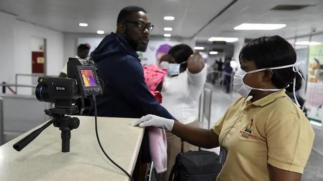 first covid 19 case in sub saharan africa a italian citizen works in nigeria