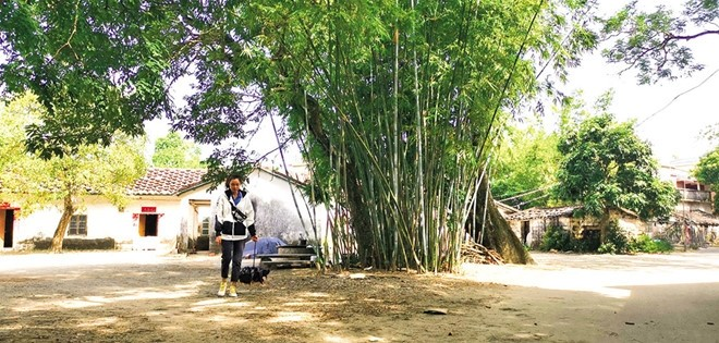 preserving traditional values at vietnamese village in wanwei island china