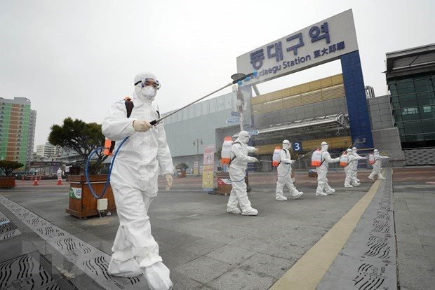 vietnamese citizen in rok infected with sars cov 2 virus