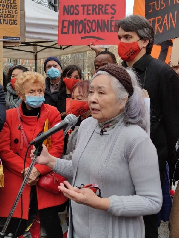 French Vietnamese woman's Agent Orange lawsuit wins activists' support