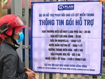 warm tet festival amidst covid 19 aid sent to help quang binhs locals