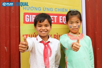Vietnamese girl leadership on menstrual hygiene management