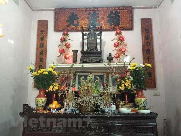 Ancestor worship reminds people of their roots
