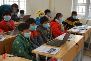 digital training for primary school teachers and students in lao cai