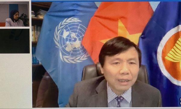 Vietnam shares development experience via digital technology at UN session