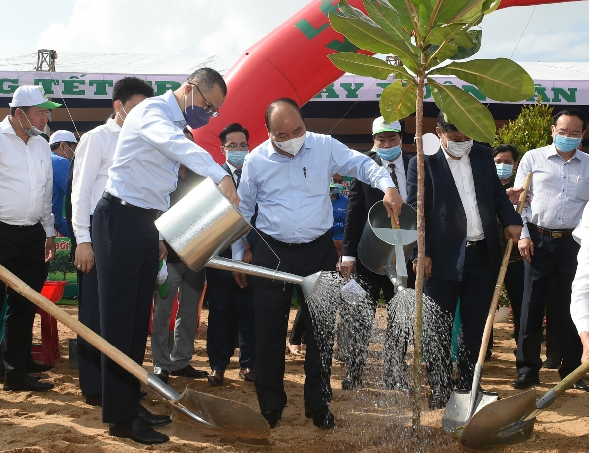 Tree planting festival launched nationwide