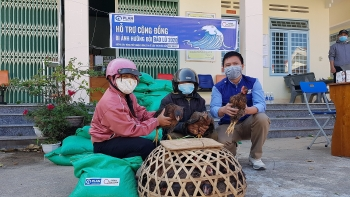 agricultural assistance to flood victims in kon tum