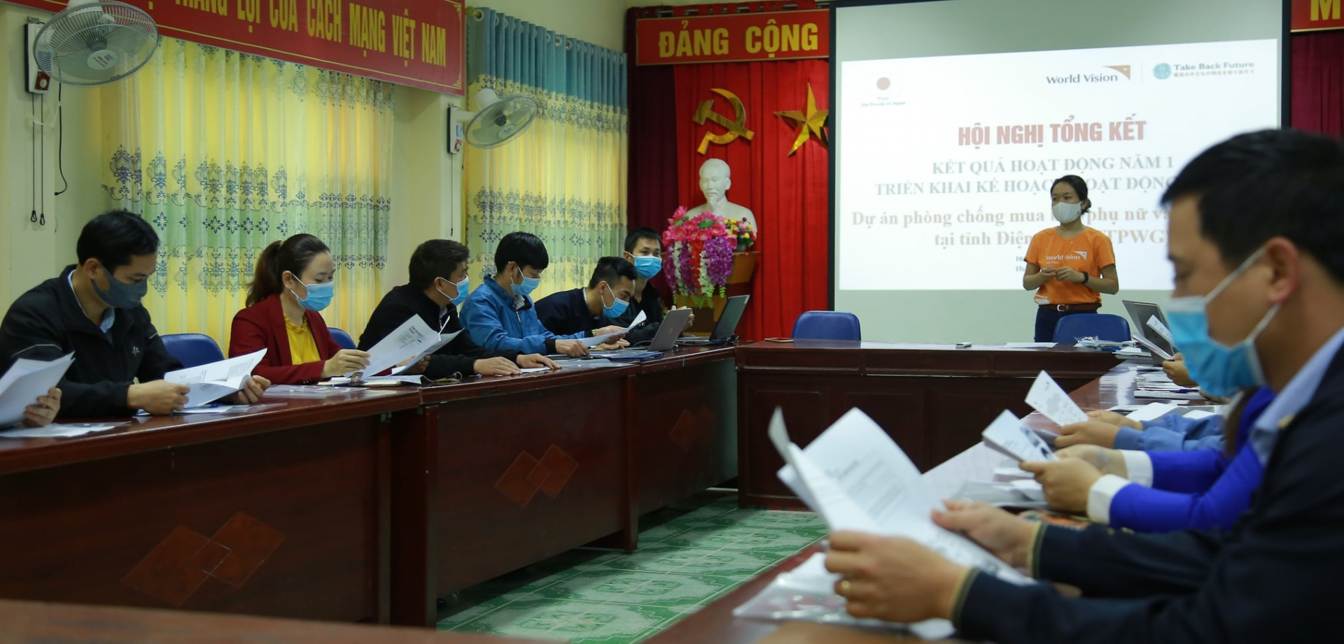 Dien bien: human trafficking prevention for women and girl project starts second year