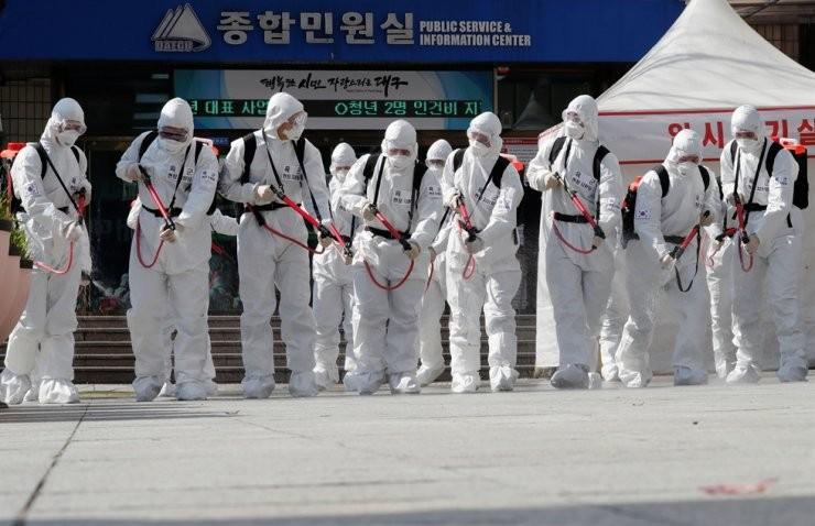 600 more coronavirus cases in south korea total at 4812