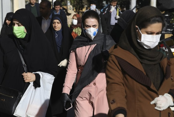 covid 19 outbreak virus ravages iran as emergency services chief infected