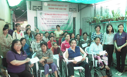 usd400000 project to enhance social inclusion of disabled people in can tho