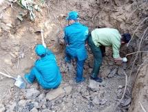 over 300kg of ammunitions explosives in dien bien phu city removed