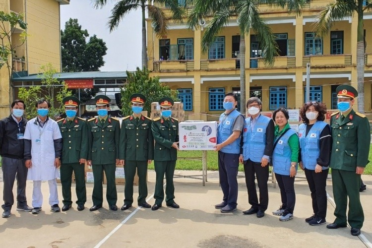 south koreas associations in vietnam support coronavirus quarantine centers