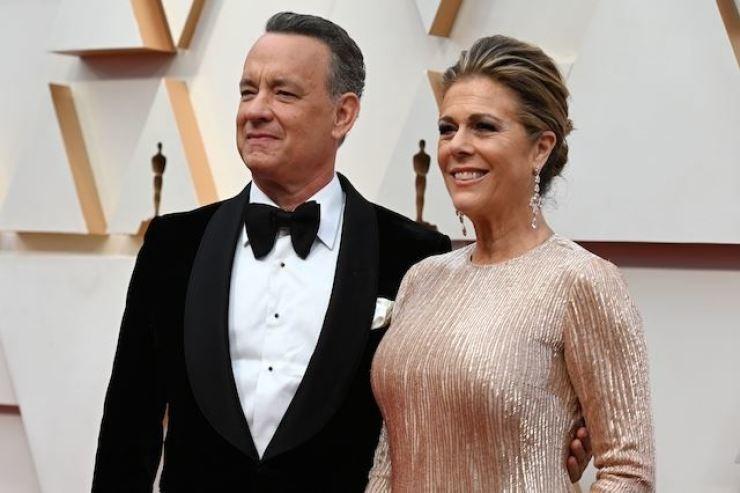 tom hanks and wife hospitalised in australia for coronavirus