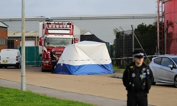 UK police charge fifth man over Essex lorry deaths