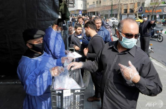 covid 19 outbreak iran reports another record highest one day death toll
