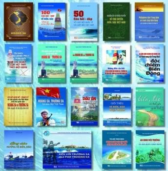 Twenty books on Vietnam's sea, island sovereignty debut