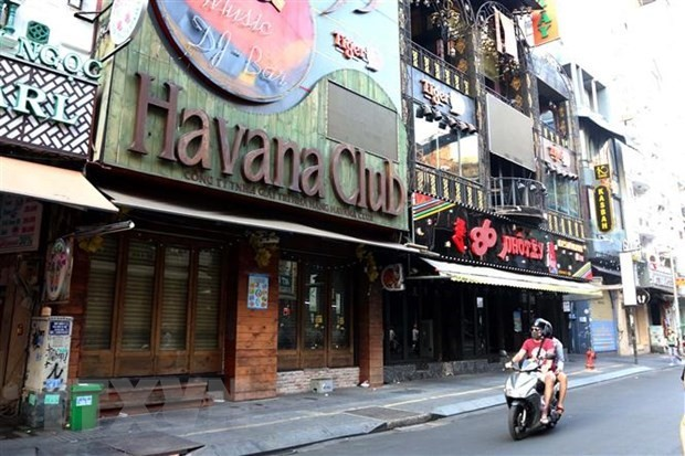 hcm citys entertainment areas restaurants closed to curb covid 19 outbreak