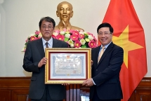 japanese outgoing ambassador honoured with friendship order