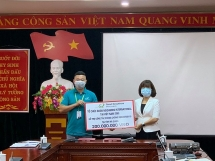 ha giang province receives aid from gni to fight covid 19