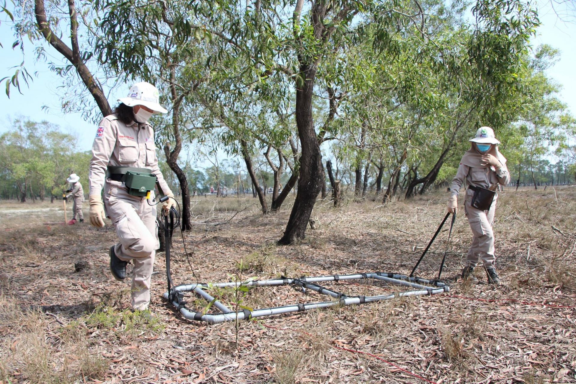 Quang Tri: Over 480 cluster munitions and EXOs safely destroyed