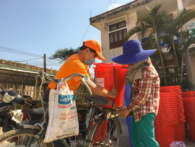 Thousands of flood-hit locals in Quang Tri benefiting from EU aid