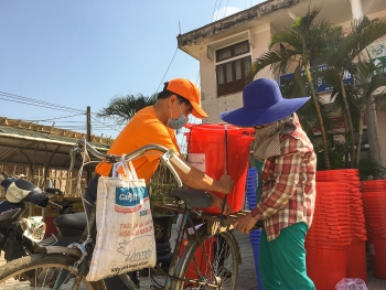 thousands of flood hit locals in quang tri benefiting from eu aid