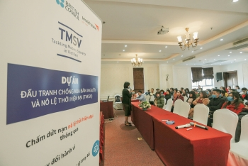 World Vision work to help trafficking survivors recover and reintegrate into community