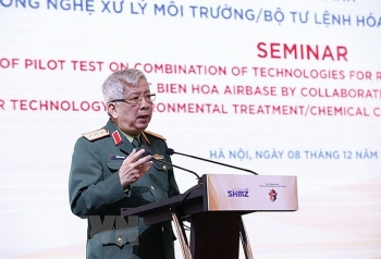 fruitful results of vietnam us cooperation in dioxin treatment