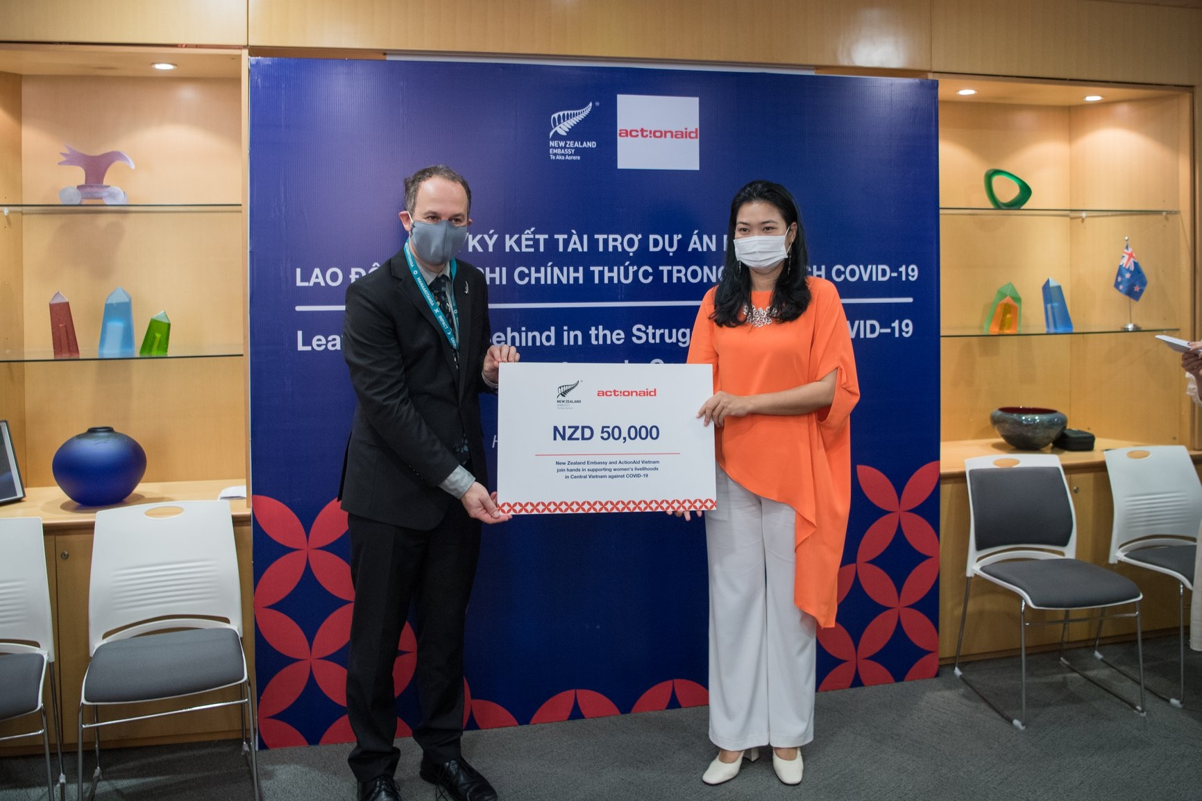 New Zealand partners with ActionAid Vietnam to help informal female workers