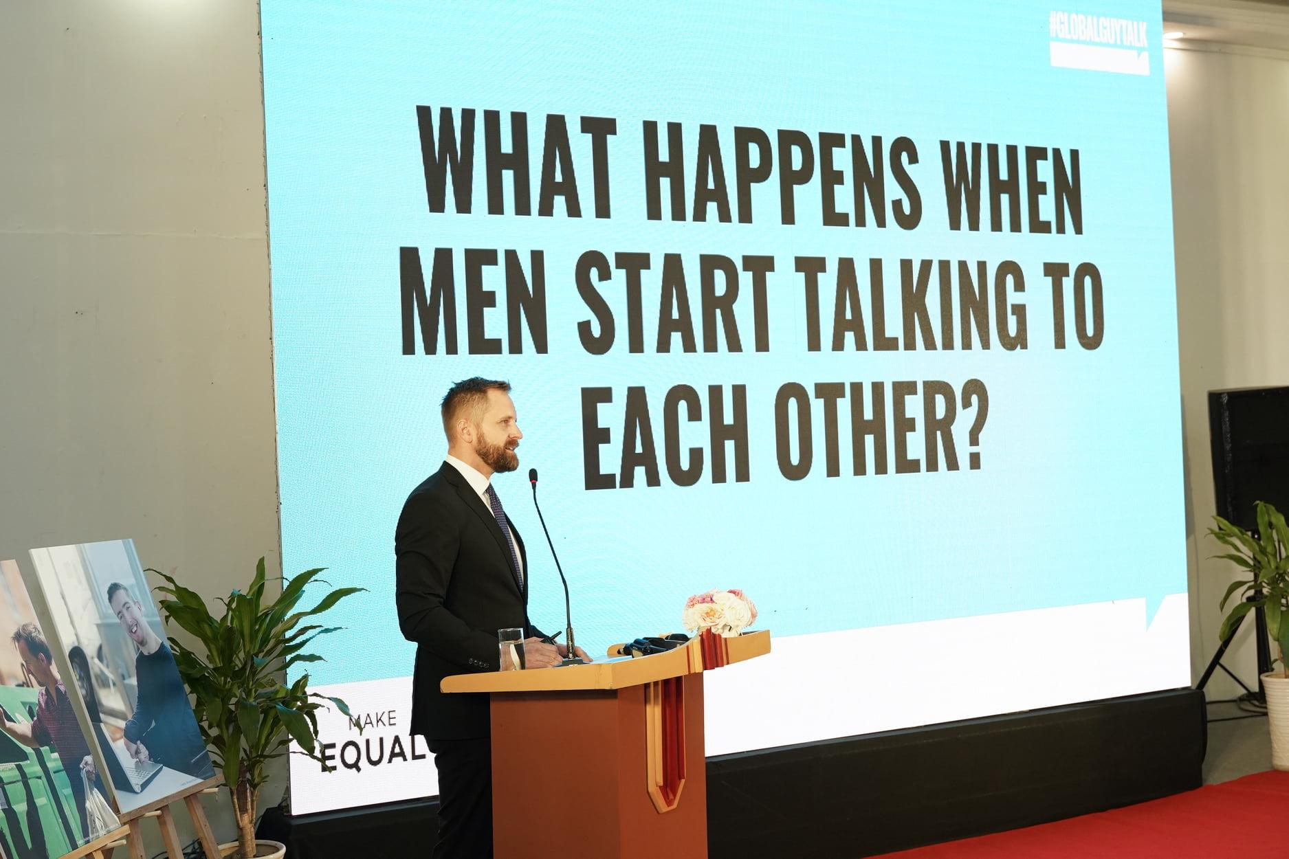 GlobalGuytalk addresses male engagement – next step towards gender equality