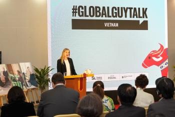 globalguytalk addresses male engagement next step towards gender equality